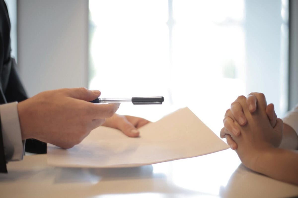 Property settlement after separation documents