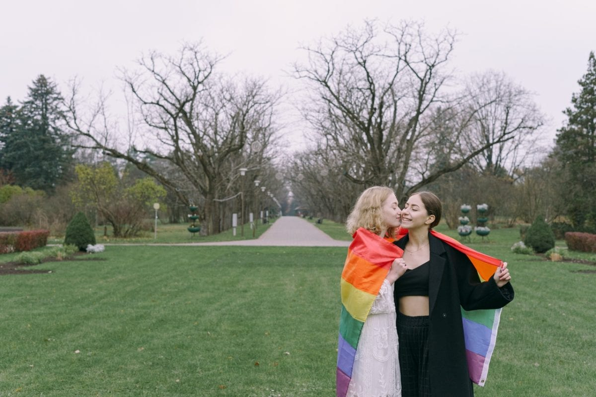 Same-sex marriage and divorce in Australia green park